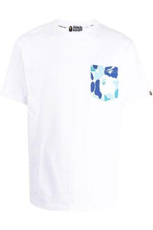 A Bathing Ape Muži S krátkým rukávem - Logo-print cotton T-shirt