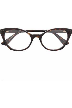 Moschino Ženy Sluneční brýle - Cat eye-frame tortoiseshell glasses