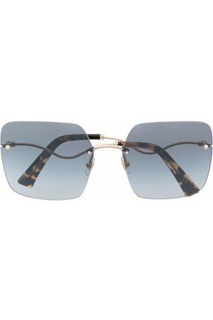 Miu Miu Oversized-frame gradient sunglasses