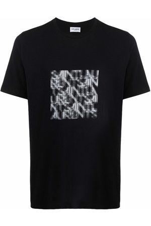 Saint Laurent Muži S krátkým rukávem - Graphic-print T-shirt