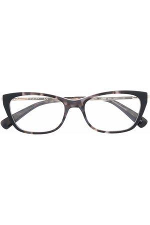 Longchamp Tortoiseshell cat-eye frame glasses