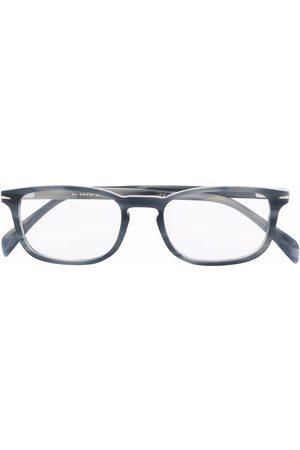 DB EYEWEAR BY DAVID BECKHAM Tortoiseshell-effect rectangle-frame glasses