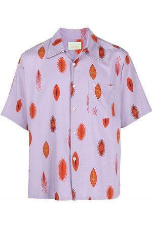 ARIES Muži S krátkým rukávem - Graphic-print short-sleeve shirt