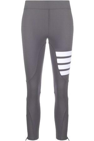 Thom Browne Ženy Legíny - 4-Bar compression leggings