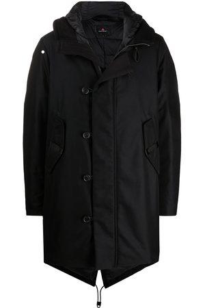 Peutery Muži Péřové bundy - Padded down hooded coat