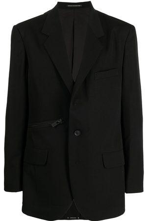 YOHJI YAMAMOTO Muži Saka - Zip-detail cotton blazer
