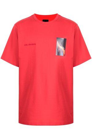 JUUN.J Graphic-print cotton T-shirt
