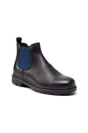 Geox Kotníková obuv s elastickým prvkem