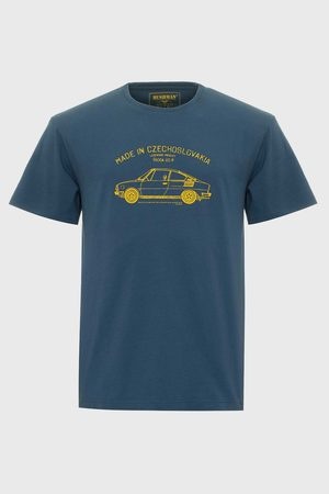 Bushman Muži Trička - Modré tričko Bobstock