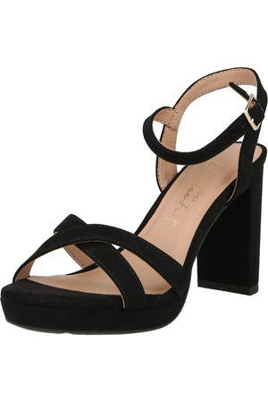 NEW LOOK Páskové sandály 'QUEENY