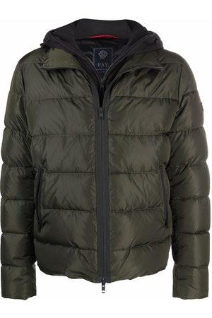 FAY Padded zip-up down jacket