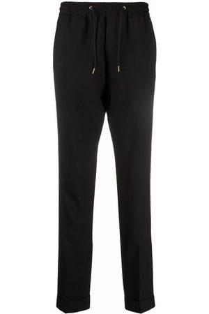 Paul Smith Drawstring-waist slim-cut trousers