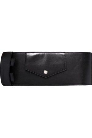 Manokhi Buckle-fastening leather belt