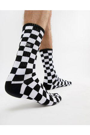 Vans Muži Ponožky - Checkerboard II socks in black/white