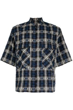 Off-Duty Plaid short-sleeve shirt