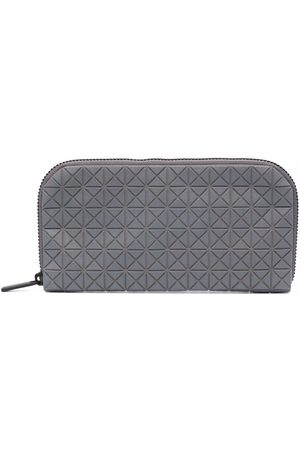 BAO BAO ISSEY MIYAKE Geometric-pattern cotton wallet