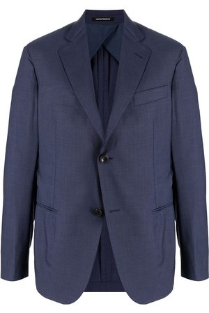Emporio Armani Single-breasted virgin wool blazer