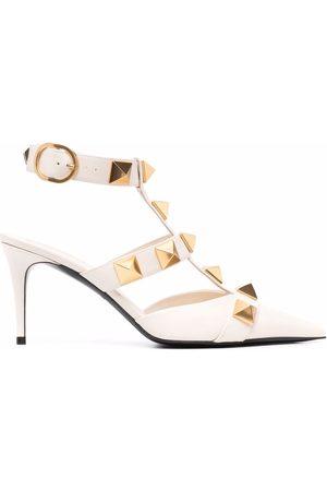 VALENTINO GARAVANI Ženy Na podpadku - Rockstud-embellishment pointed-toe pumps