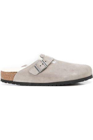 Birkenstock Muži Sandály - Boston shearling-lined sandals
