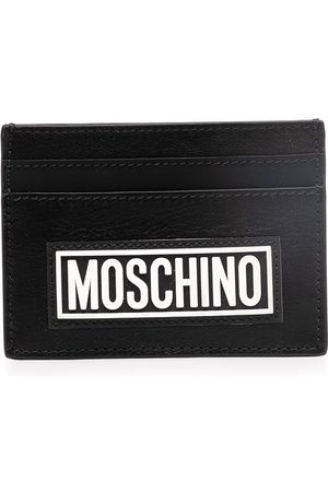 Moschino Logo-print cardholder