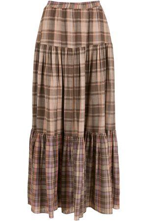 Olympiah Ženy Maxi - Merlot long skirt