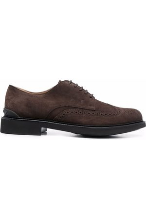 Tod's Brogue-detail lace-up Oxford shoes
