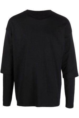 Alchemy Muži S dlouhým rukávem - Layered cotton T-Shirt