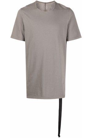 Rick Owens Muži S krátkým rukávem - Plain boxy t-shirt