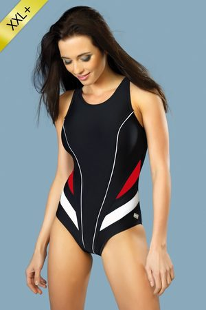 GWinner Ženy Jednodílné plavky - Dámské plavky Liana jednodílné