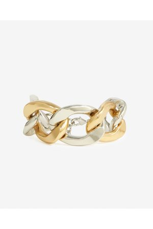 The Kooples Two-tone metal bracelet with large links