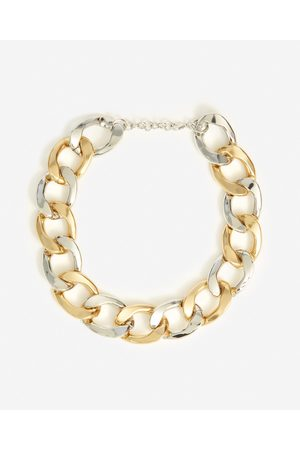The Kooples Two-tone metal necklace with large links