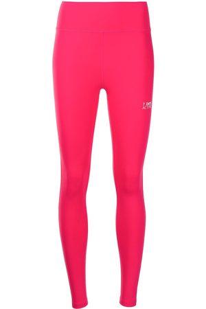 7 DAYS ACTIVE Ženy Legíny - Logo-print leggings