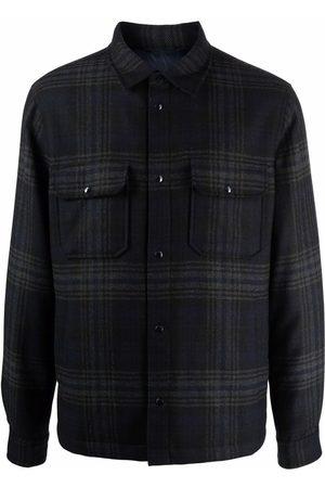 Woolrich Muži Péřové bundy - Plaid-check padded jacket