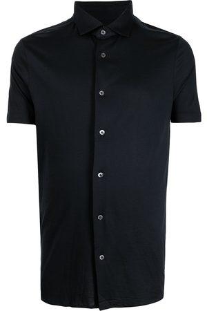 Emporio Armani Button-up short-sleeved shirt