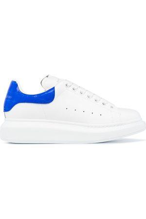 Alexander McQueen Ženy Tenisky - AMCQ LT SNKR CHNKY SLE CROC BLUE TAB LTH