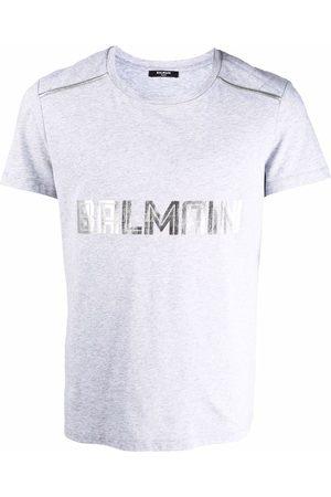 Balmain Muži S krátkým rukávem - Logo-print short-sleeve T-shirt