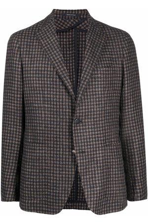 TAGLIATORE Muži Saka - Plaid-check pattern blazer
