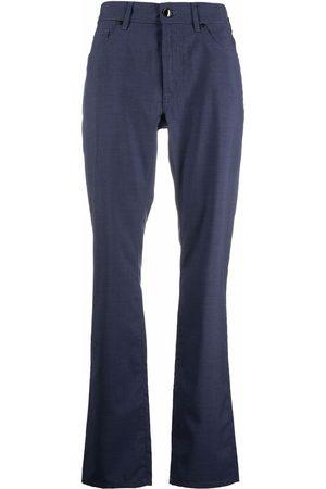 Pal Zileri Muži Rovné nohavice - Straight-leg wool trousers