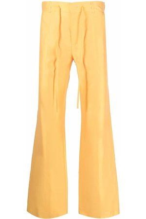 Karl Lagerfeld Široké nohavice - X kenneth Ize pressed-crease trousers