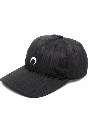 Marine Serre Ženy Kšiltovky - Crescent-moon moire cap