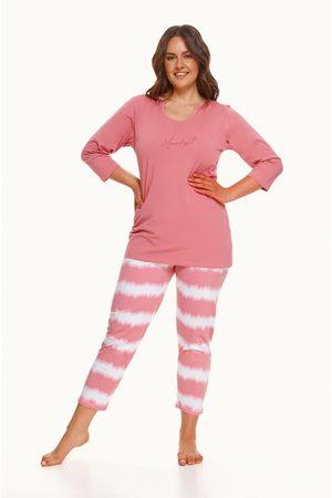 Taro Ženy Tepláky na spaní - Dámské pyžamo 2606 3XL