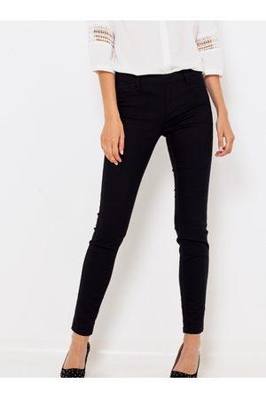 Camaïeu Černé skinny fit kalhoty