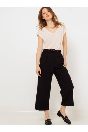 Camaïeu Černé culottes