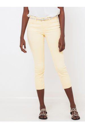 Camaïeu Žluté 3/4 slim fit kalhoty