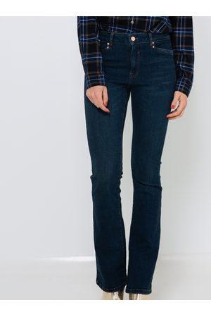 Camaïeu Modré bootcut džíny
