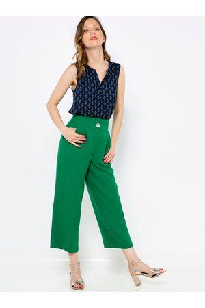 Camaïeu Zelené culottes