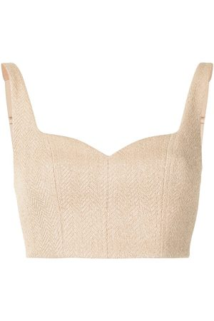 MANNING CARTELL Ženy Crop top - French-kiss crop-top