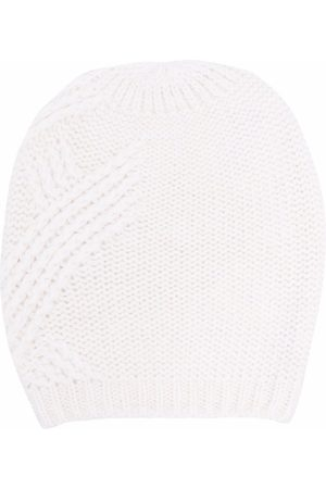 PESERICO SIGN Knitted beanie hat