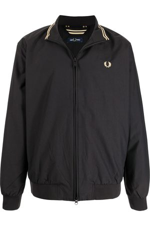 Fred Perry Embroidered-logo windbreaker