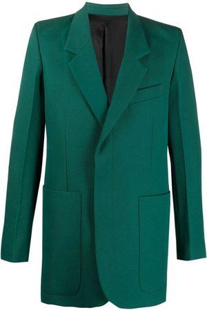 Ami Muži Saka - Hidden-buttoning tailored blazer